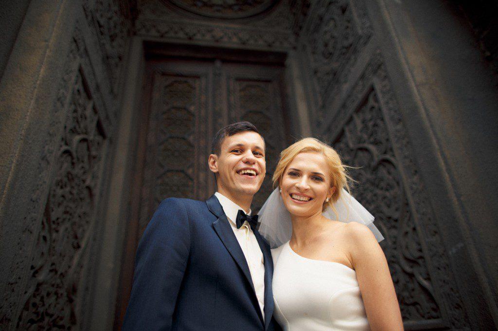 Роман Грищук с женой Анной Гресь (2)